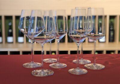 elegante Weingläser
