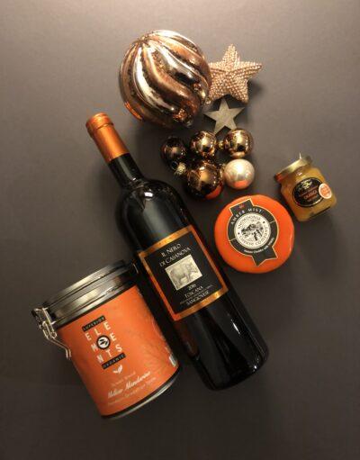 Geschenkidee Wein und Delikatessen